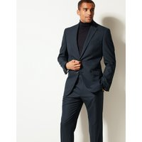 M&S Collection Navy Regular Fit Jacket
