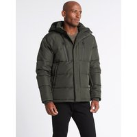 M&S Collection Hooded Jacket with Stormwear