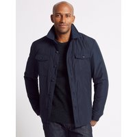 M&S Collection Wadded Shirt Jacket