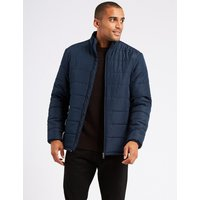 M&S Collection Quilted Jacket with Stormwear