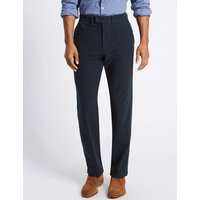 M&S Collection Regular Fit Moleskin Chinos