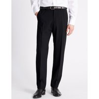 M&S Collection Regular Fit Flat Front Trousers