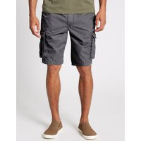 M&S Collection Pure Cotton Cargo Shorts