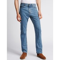 M&S Collection Big & Tall Regular Fit Jeans at Marks and Spencer Online