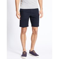 M&S Collection Pure Cotton Shorts with Adjustable Waist