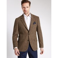 MandS Collection Luxury Pure Wool Tailored Fit Jacket