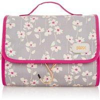 Victoria Green Emma Smoke Floral Hanging Beauty Bag