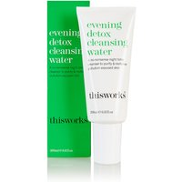 This Works Evening Detox Cleansing Water 200ml