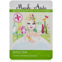 MaskerAide Detox Diva- Cleanse, Exfoliate and Detoxify Face Mask 23g
