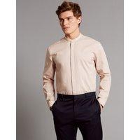 Autograph Luxury Cotton Rich Slim Fit Shirt