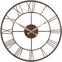 Skeleton Rustic Wall Clock