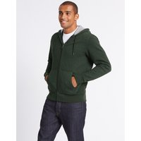 MandS Collection Cotton Rich Active Hoody