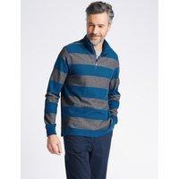 Blue Harbour Pure Cotton Striped Top