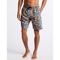 M&S Collection Cactus Print Swim Shorts