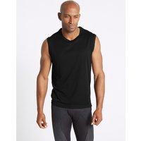 M&S Collection Active Quick Dry Vest Top