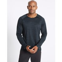 M&S Collection Active Performance Textured T-Shirt