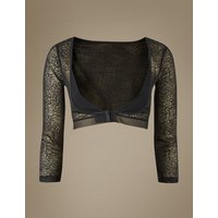M&S Collection Light Control Textured Lace Armwear