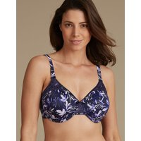 MandS Collection Lace Padded Minimiser Full Cup Bra C-G