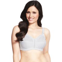 MandS Collection Total Support Floral Lace Non-Padded Full Cup Bra B-G
