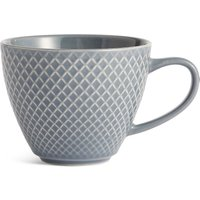 Textured Blue Mug