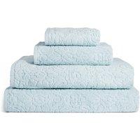 Plush Floral Towel