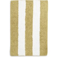 Wide Striped Bath & Pedestal Mats