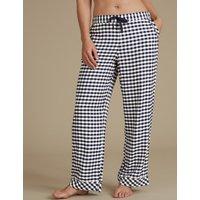 M&S Collection Gingham Pyjama Bottoms