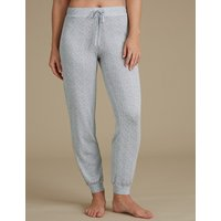 M&S Collection Textured Cuffed Hem Pyjama Bottoms
