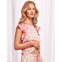 Rosie for Autograph Pure Modal Floral Print Short Sleeve Top