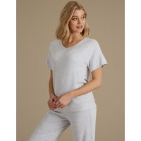 M&S Collection Short Sleeve Pyjama Top