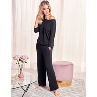 Rosie for Autograph Lace Trim ¾ Sleeve Pyjama Top