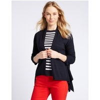 M&S Collection Waterfall Long Sleeve Cardigan