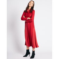 M&S Collection Longline Long Sleeve Shirt Dress