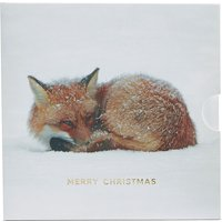 Christmas Fox Gift Card