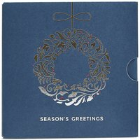Christmas Wreath Gift Card