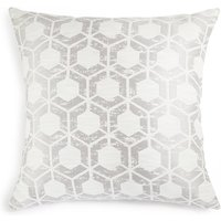 Hexagonal Geometrical Print Cushion