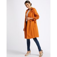 Per Una Double Breasted Trench Coat