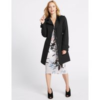 M&S Collection PETITE Trench Coat with Stormwear