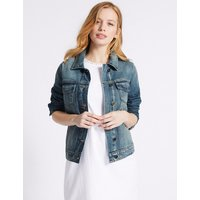 M&S Collection PETITE Denim Jacket