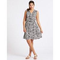 M&S Collection Paisley Print Wrap Dress