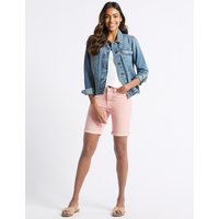 M&S Collection Stitch Detail Denim Shorts