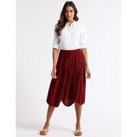 M&S Collection Flared Full Midi Skirt