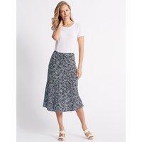 Classic Printed Full Maxi Skirt