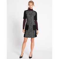 M&S Collection Textured Patch Pocket Tunic Dress