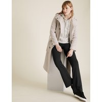 M&S Collection Ponte Slim Bootcut Trousers