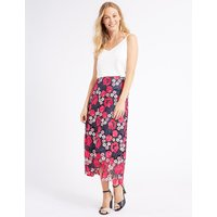 M&S Collection Lace A-Line Midi Skirt