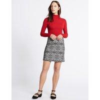 M&S Collection Paisley Print A-Line Skirt