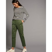 Autograph Supima Cotton Rich Split Hem Trousers