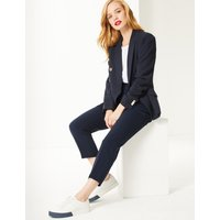 M&S Collection PETITE Slim Leg Trousers