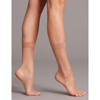 Autograph 3 Pack 7 Denier Sheer Ankle High Tights